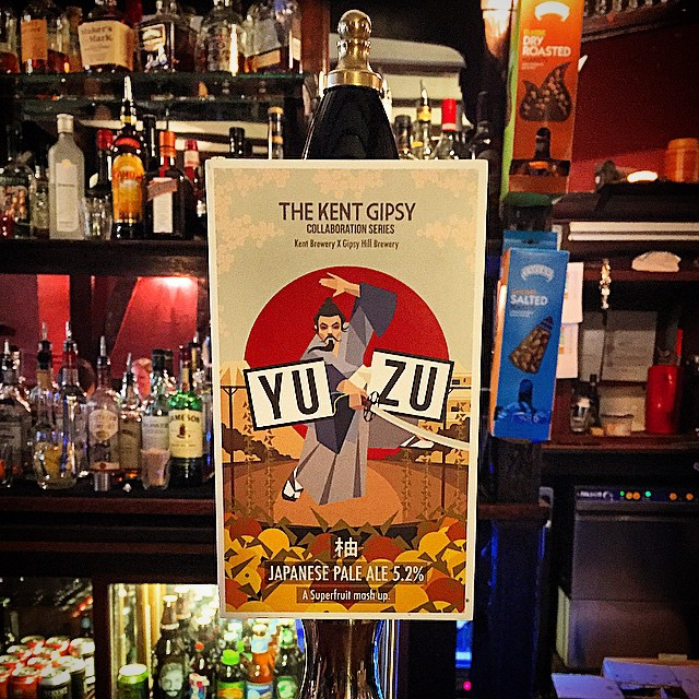 You remind me of the power of Yu Zu! Who do? You do! Brilliant collaboration by Gipsy Hill and Kent Brewery now on! #floral #citrus #greentea #japanesepaleale #craftbeer #london #springtimeinabottle