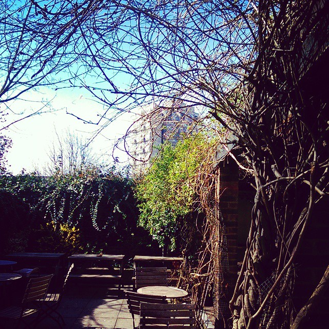 Happy Good Friday Eve everyone! #beergarden #sunshine #spring #britishsummertime #pubsinlondon #craftbeer #craftlager #realale #garden #alfresco #summeriscoming #Easter #easterweekend