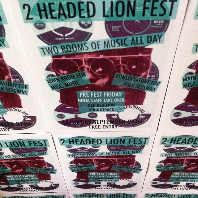 #2headedlion tomorrow #freemusic all day!!!! @alistairmackenzie @TheGetGone @RefolkUnion @anabonbon #errol&crew @henrybrothers and many more! #livemusic #realale #craftbeer #pubgrub #london ##