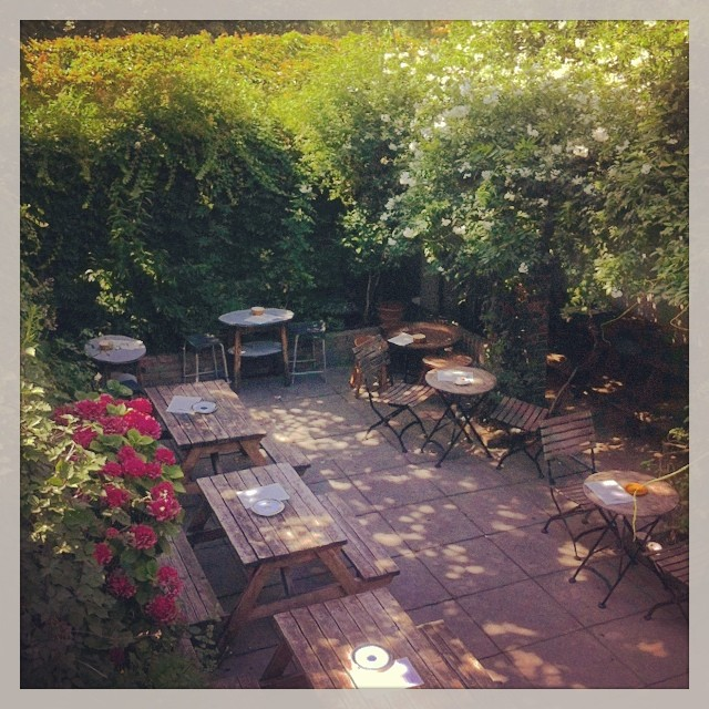 @oldredkenn #beergarden ready for action and gallons of #realale #craftbeer #pimms #laughter #smiles